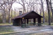 Photo: Upper Picnic Area Shelter, Wildcat Den Shelters