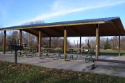 Photo: Campground Shelter, Nine Eagles Shelters
