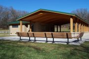 Photo: Lower Picnic Shelter, Viking Lake Shelters