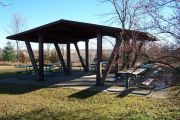 Photo: South Shelter, Prairie Rose Shelters