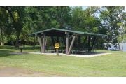 Photo: Shelter #1, Lake Manawa Shelters
