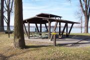 Photo: Shelter #4, Lake Manawa Shelters