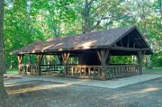 Photo: Oak Woods Shelter, Ledges Shelters