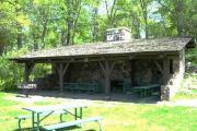 Photo: Pikes Point Shelter, Pikes Point State Park